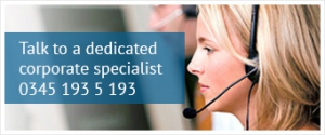 Talk to a dedicated corporate specialist